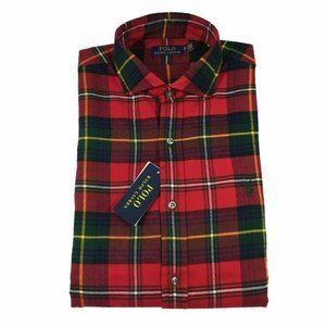 Polo Ralph Lauren Men's Soft Flannel Button Down